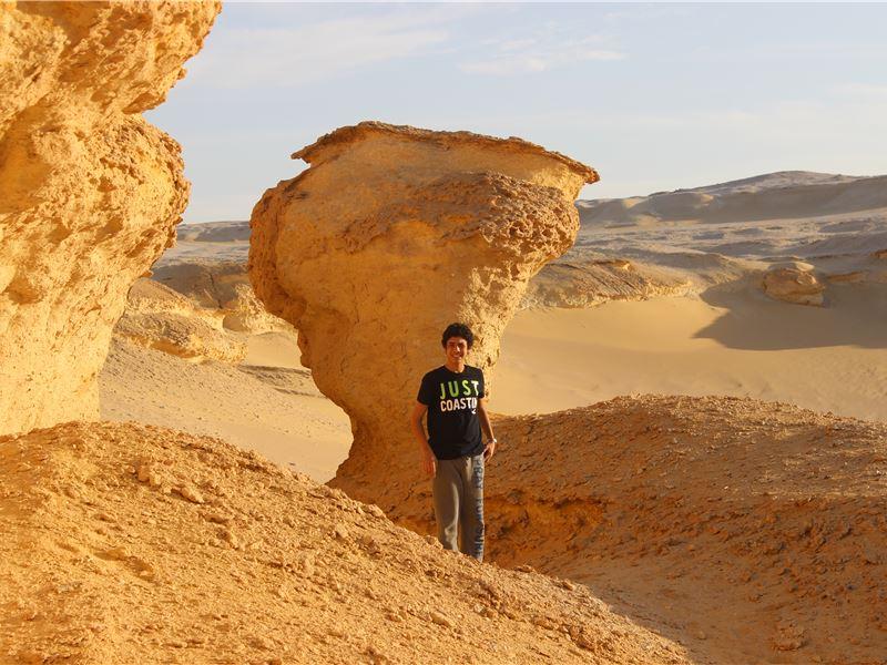 Camping trip to Wadi El Rayan, Fayoum